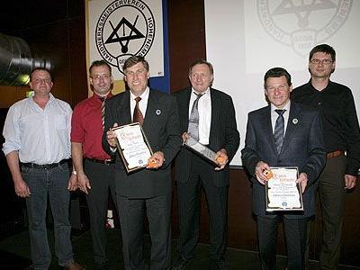 Die Freie Meistervereinigung Hohenems ehrte verdiente Mitglieder bei der 140-Jahr-Feier.