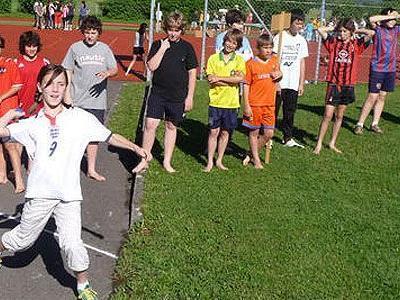 Die Schüler der HS Sulz-Röthis zeigten sich sportlich.