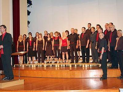 GIOIA Chor unter der Leitung von Paul Burtscher.