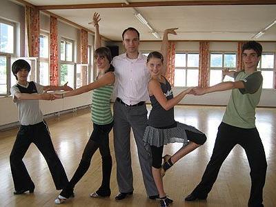 Martinas Kura mit den beiden Nachwuchspaaren Pitt & Angelique, Christina und David.