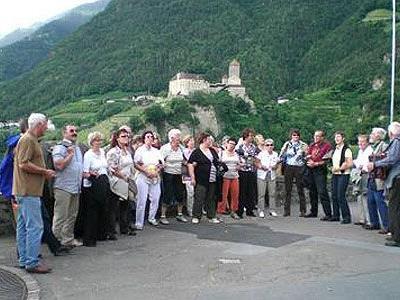 Restlos begeistert waren die Götzner von der Schönheit Südtirols.