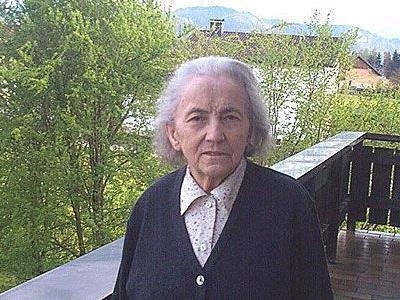 Russ-Preisträgerin Maria Summer (1921–2007)