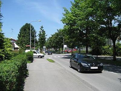 Tempo 50 wird in der Höchster Straße zu wenig beachtet.