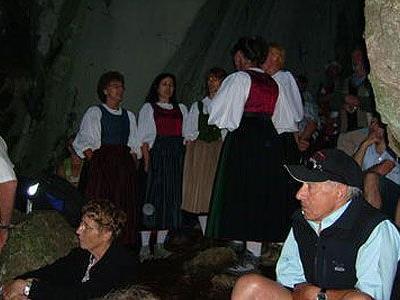 Viel Applaus gab es für den Houmat-Gsang beim Konzert im Kirchle.