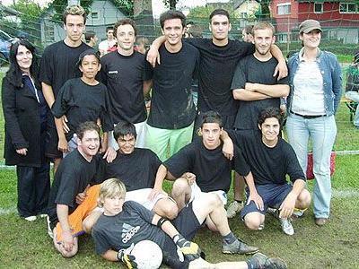 Das Emser OJAH-Team gewann das Konki-Turnier 2007.