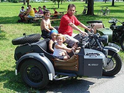Treffen für alte Motorräder