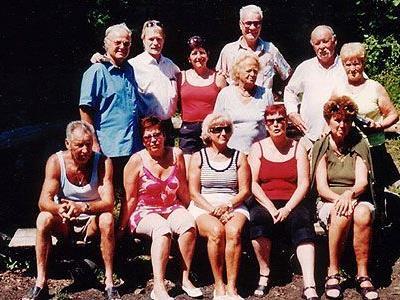Vereinsauflug der Das Grillfest fand heuer bei der Ruine Sigberg statt, wieder perfekt organisiert von Karl.
