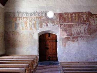 Fresken in der St.Nikolauskirche