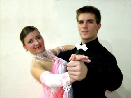 ÖM-Teilnehmerpaar in der D-Klasse Thomas Müller und Silke Sohler.