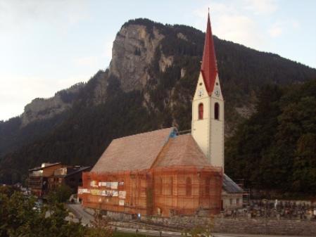 Die Fertigstellung der Kirchturmsanierung wird am kommenden Sonntag in Au gefeiert.