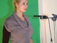 Alexandra Metzler, die Moderatorin