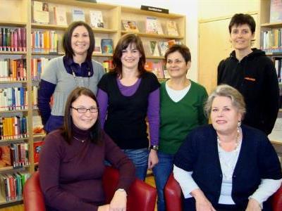 Das Team der Bücherei in Bezau ist ständig um seine Leser bemüht