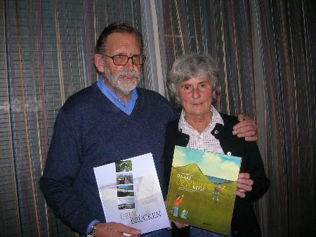 Elisabeth und Gerhard Ebenberger stellten ihre neuen Bücher vor.
