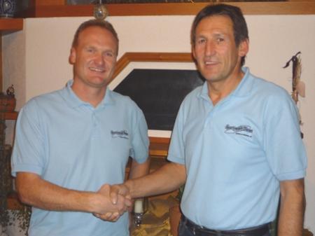 Guido Flatz und Leo Bischof