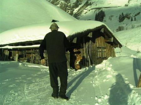 Im Winter ist die Mondscheinhütte ein Geheimtipp.