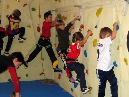 Kletterkurs für Kinder