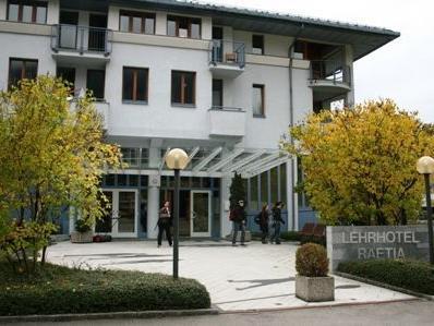 Morgen kann das Lehrhotel Rätia besichtigt werden