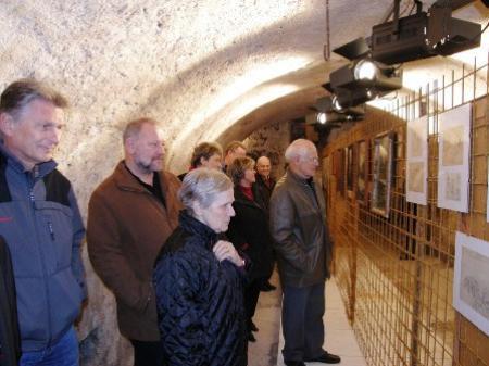 Zirka 1000 Besucher besichtigten die Ausstellung am Eröffnungstag.