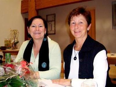 Anna Schwarz und Hertha Covi