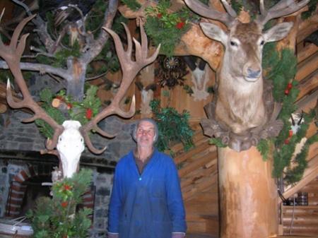 Armin Bitschnau war lange Jahre Jagdaufseher im Montafon.