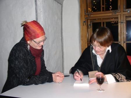 Autorin Renate Welsh zu Gast im Schlösslesaal in Röthis.