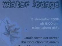 """Der Verein """"cultureclub hangover productions"""" lädt zu einer besonderen Einstimmung auf Weihnachten."""