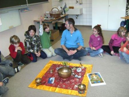 Die Innerbrazer Volksschüler lernten vieles über die Lebensweise in Peru.