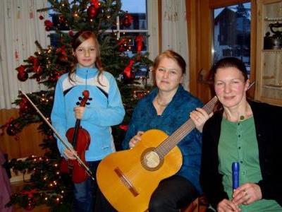 Gerda, Stefanie und Diana