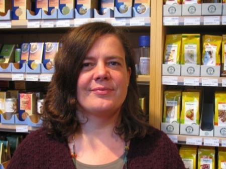 Petra Natter, Natur&Kost: Bis jetzt läuft es ganz hervorragend, Tees und Feinkost sind der Renner.
