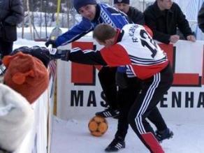 Symbolfoto: Snow-Soccer