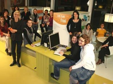 Das Team des Vorarlberger Jugendinformationszentrums.