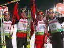 Die heimische Staffel siegte vor Russland