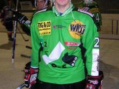 Johan Carlsson erzielte das 3:1 und traf auch im Penaltyschießen.