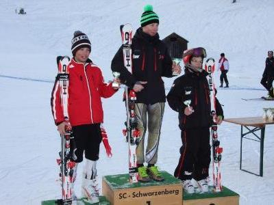 Schüler I von links: Pascal Flöry, Mathias Graf und julian Kienreich