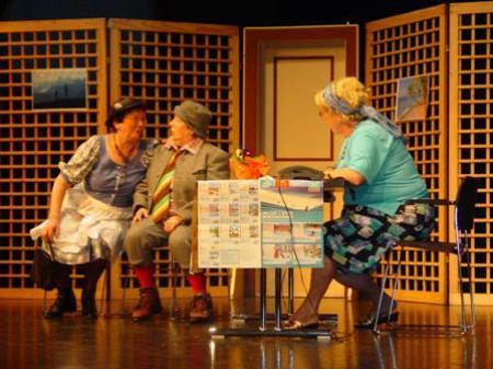 """""""Reise nach Hawaii"""" mit Melitta, Paula und Traudl"""