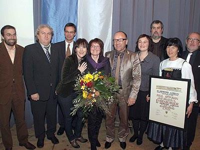 Die Verleihung der Ehrenbürgerschaft an Paul Ammann