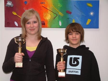Gesamtsieger: Stephanie Bals und Marius Rehm.
