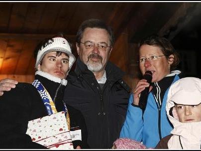 Simon mit Werner und Ricarda