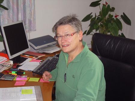Bürgermeisterin Elisabeth Wicke
