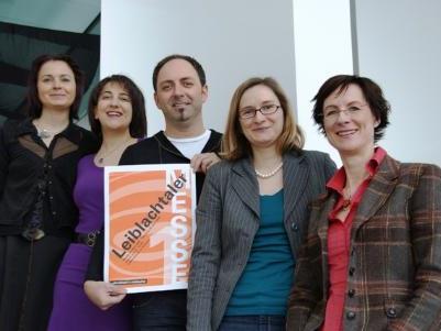 Das Organisationsteam (v.l.): Veronika Matt, Diana Sicher-Fritsch, Thomas Klocker, Dr. Anita Einsle und Heide Schulze-Ganzlin