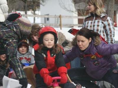 Die Kinder waren mit viel Eifer und Spaß bei der Sache.