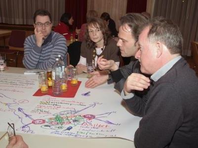 Interessante Diskussionsrunden mit Vertretern der Walgaukommunen.