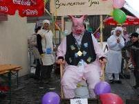 Viel Spaß hatten Teilnehmer und Zuschauer beim Mühlebacher Schaltbäro-Renno.