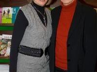 Vizebürgermeisterin Gertrud Blum und Kiki Karu.