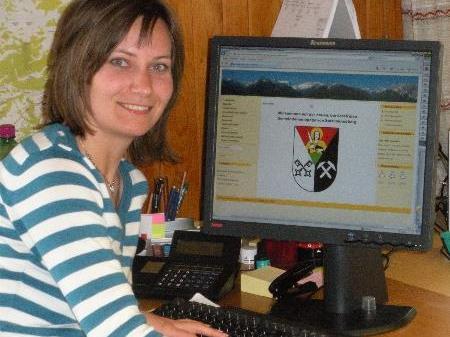 Daniela Erhard arbeitete an der neuen Homepage mit.