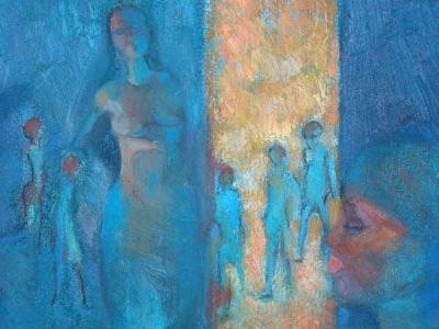 Kunstausstellung im Bludenzer Rathaus.