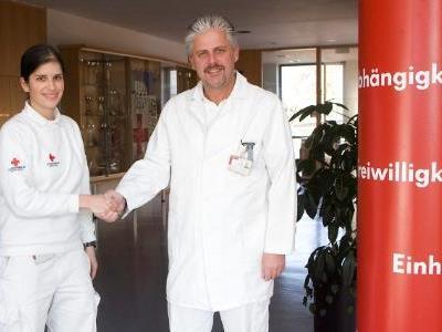 Marion Sohm mit Robert Kramer.