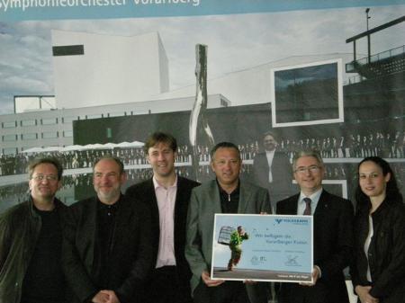Von links nach rechts: Korsten, Löbl, Uhlig, Konzett, Bock und Schuhmayer
