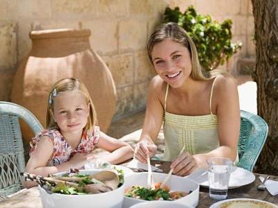 BU: Ausgewogene Ernährung ist der Schlüssel zu Gesundheit und guter Figur.