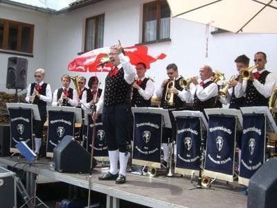 Bereits im Vorjahr sorgte die Bauernkapelle der Stadtmusik Bludenz beim Klosterfest für beste Unterhaltung.
